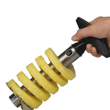 Pineapple Peeler Stainless Steel With ABS Handle Fruit Knife Cutter Corer Slicer Household Kitchen Tools portable stainless steel folding fruit knife with scorpion pattern handle