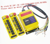 2 Speed Control Hoist Crane Remote Control System 2 Transmitters 1 Receiver