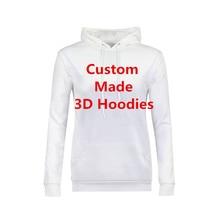 High Quality Hooded Sweatshirts Women Men Personality 3D Pri