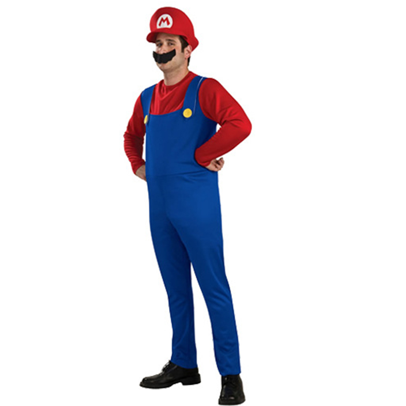 Adults and Kids Super Mario Bros Costume 4