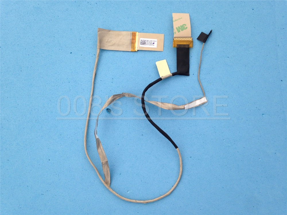 Cable Length: As Photo Show, Color: Black Computer Cables Original LCD LED Video Flex for ASUS Eee PC 1025C 1025CE PN:14G225012101 Replacement Notebook LCD LVDS Cable