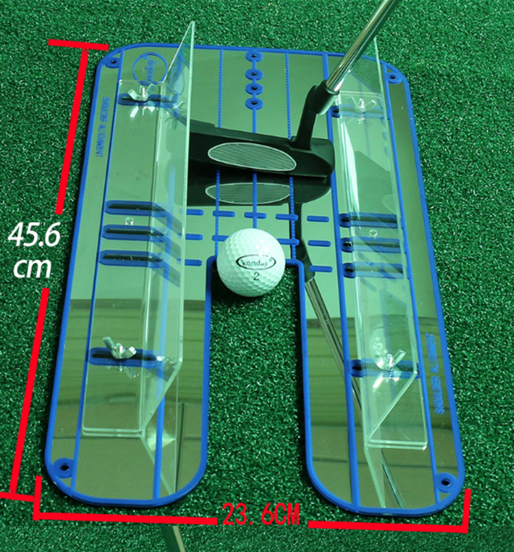 Professional Golf Putting Alignment Mirror Golf Putting Plane Golf Practice Training Mirror Aid