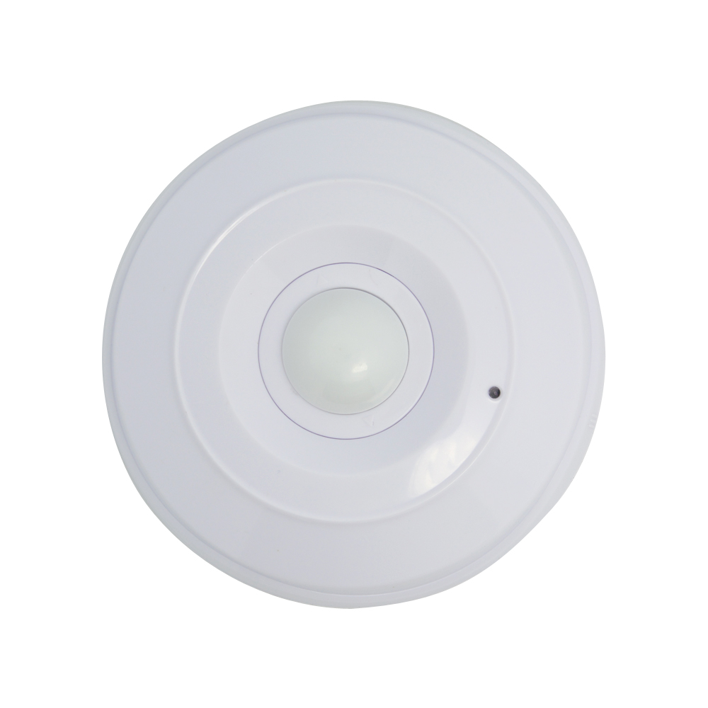 (1 pcs)Indoor Wired PIR motion detector and Microwave Double Sensor Ceiling 360 degree NC Output Burglar Alarm home security
