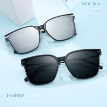 MIZHO 2019 New Square Sunglasses Polarized Men Designer Mirror Women Sun glasses Luxury Alloy Frames Gafas de sol Eyewear Shades