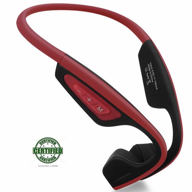 7af7896c5ff 2018 Newest Wireless Bone Conduction LF-19 Bluetooth Headphone Waterproof  Sport Outdoor Stereo Headset Noise Cancelling Earphone