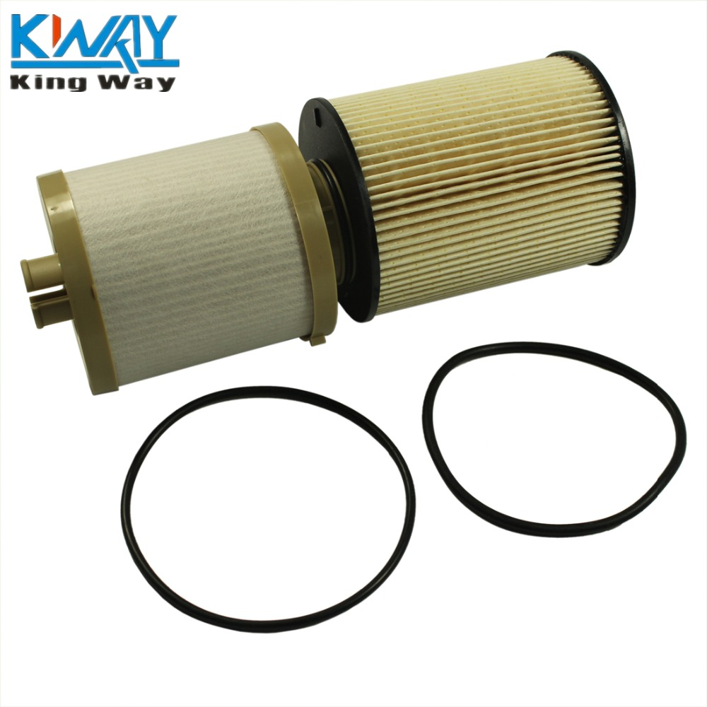 free shipping king way fd4617 fuel filter for 08 10 ford f350 f450 super duty 6 4 fd 4617 8c3z 9n184 c [ 1000 x 1000 Pixel ]