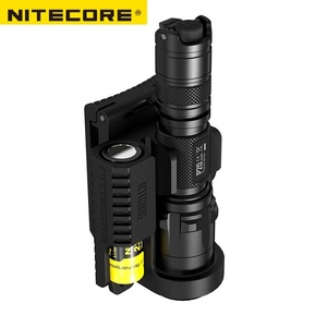 Image 2 - NITECORE Holster Mount Holder NTH30B For Flashlight P20 / P20UV and Battery Duty Belt Hunting Professional accessories