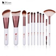 DUcare Makeup Brushes 5/6/7/11PCS Brush Set Contour Eyeshadow Fan Highlight Concealer Eyebrow Eyelash Cosmetic Tool