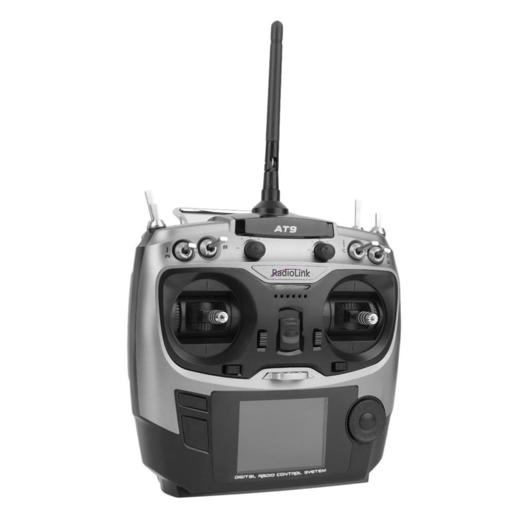 Original Radiolink AT9 Remote Control 2.4GHz 9ch RC Transmitter with R9D Receiver DIY Quadcopter