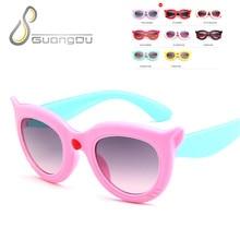 7cf94ef747660 2018 nova moda infantil Óculos De Sol meninos meninas crianças óculos de  Sol óculos de oculos