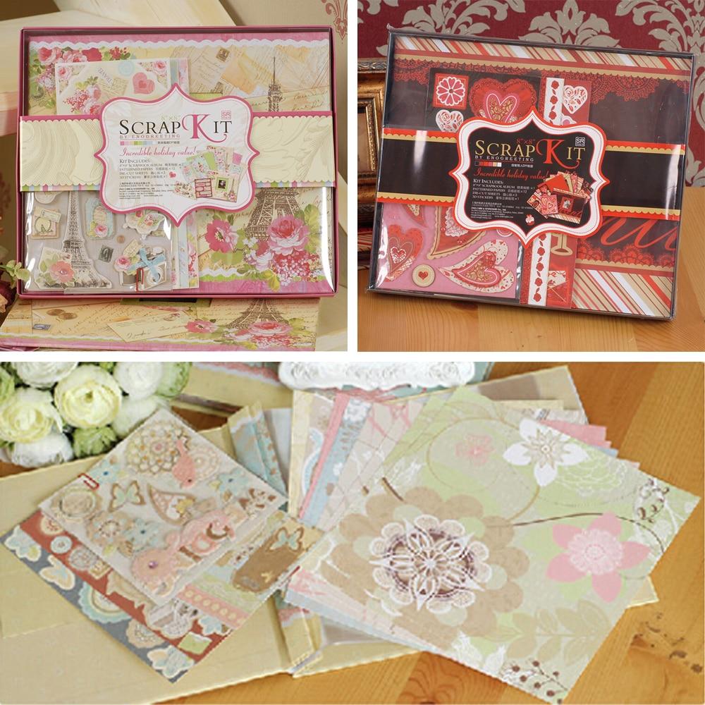 How to scrapbook a holiday - Wedding New Baby Scrapbook Album Diy Scrapbook Kit Gift Set Baby Wedding Valentine Album
