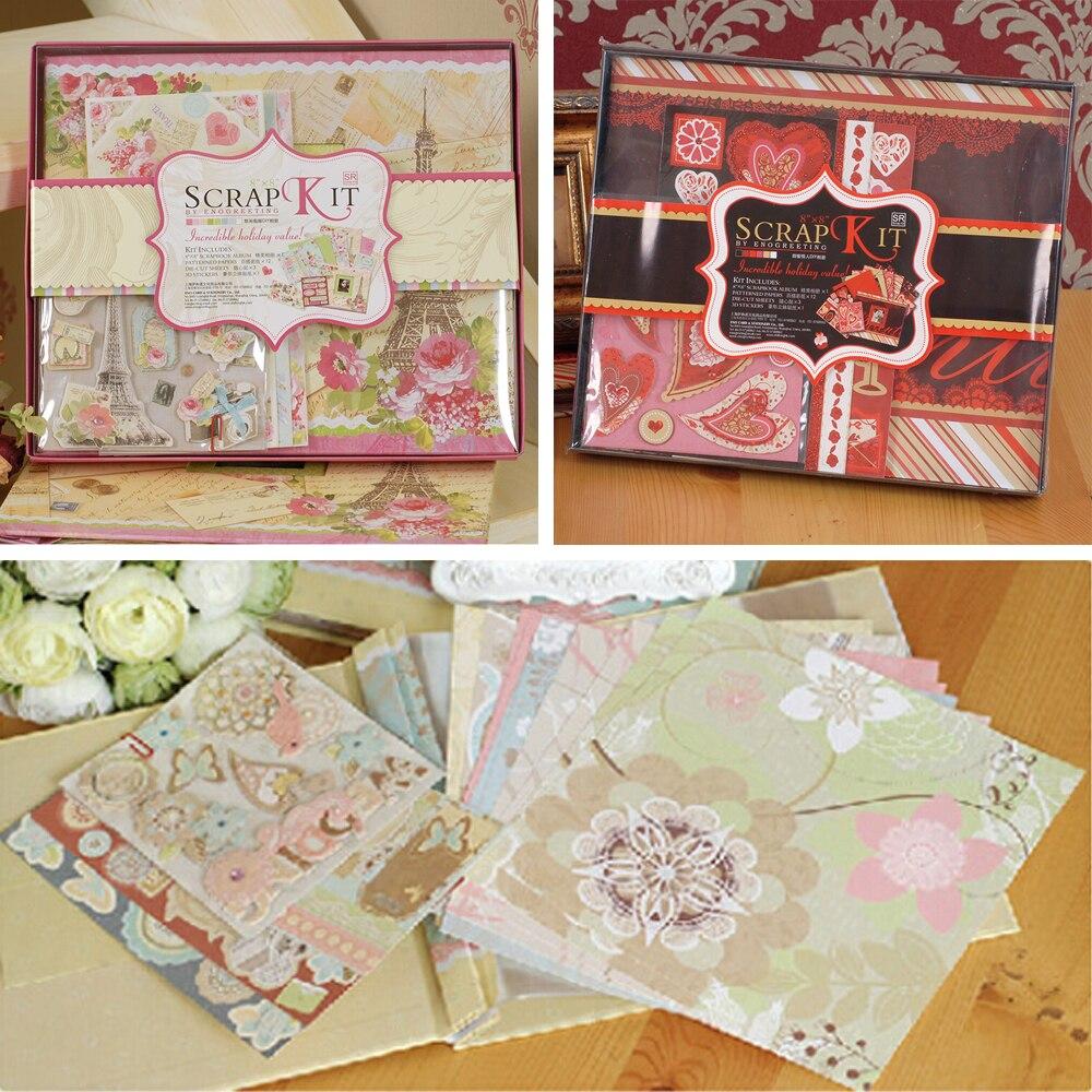How to scrapbook a baby album - Wedding New Baby Scrapbook Album Diy Scrapbook Kit Gift Set Baby Wedding Valentine Album