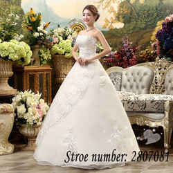 Free Shipping Vestidos De Novia Real Photo Sleeveless Sequins Bling Wedding Dress Cheap White Princess Bride Gowns XXN001 5