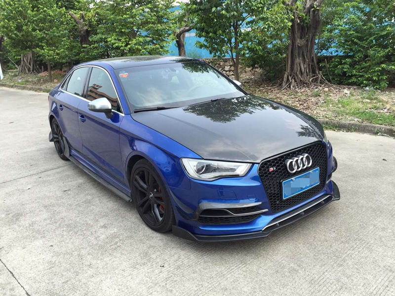 buy s3 carbon fiber hood rs3 style carbon fiber hood bonnet for audi s3 nice. Black Bedroom Furniture Sets. Home Design Ideas