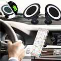 Car Qi Wireless Charger Dock mobile Phone holder stand Charging Pad For iphone Samsung Galaxy S7 S6 S5 note6 Android phone