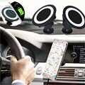 Qi carro Carregador Sem Fio Doca estande suporte Do Telefone móvel de Carregamento pad para iphone samsung galaxy s7 s6 s5 note6 android telefone