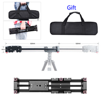 FT 40 Retractable Camera Video Slider Dolly Track Rail Stabilizer 40 80cm Constructed for Canon Nikon Sony DV DSLR Camcorder