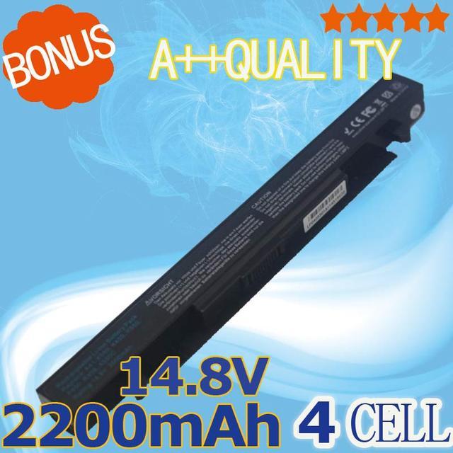 2200 mah batería del ordenador portátil para asus a41-x550 a41-x550a a450 f552 p550 X450 A550 K450 R409 P450 K550 R510 F450 F550 X550 serie