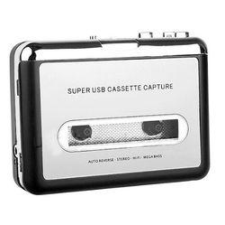 Cassette player usb cassette to mp3 converter capture audio music player convert music on tape to.jpg 250x250