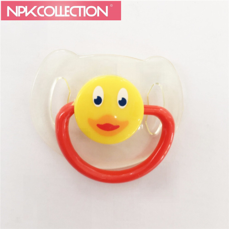 Magnetic Pacifier For Reborn Baby Doll Pacifier Magnet Handmade DIY Nipple 3PCS Doll Accessories