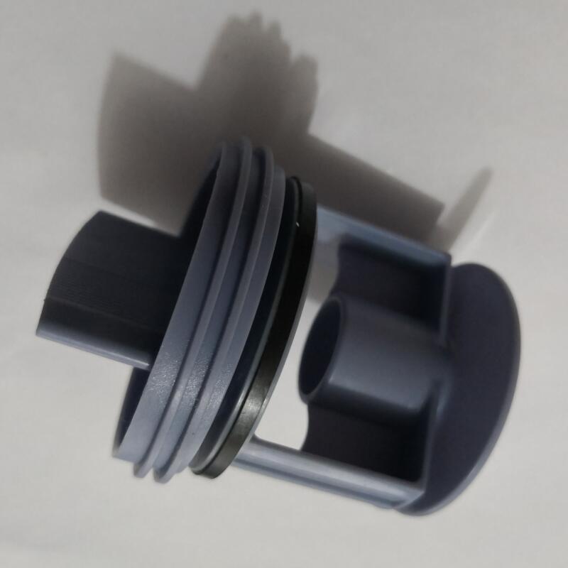 Unviersal Washing Machine Drain Pump Blue Color Plug Waste