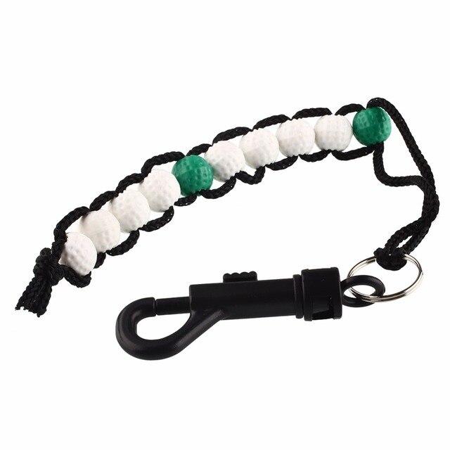 Compteur de Score de course de Golf perles de balle de Golf en plastique accessoires dentraînement de compteur Putt faciles à utiliser