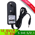 1pcs 12.6V 1A ac dc adapter with EU plug