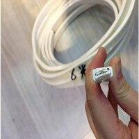 5m SMD 5050 Casing Single ROW Density RGB LED Strip Light 120 Led M Luminaria 220V