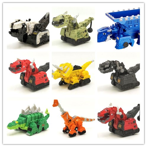Alloy Dinotrux Dinosaur Truck Removable Dinosaur Toy Car Vehicle Mini Models New Children's Gifts Toys Dinosaur Models