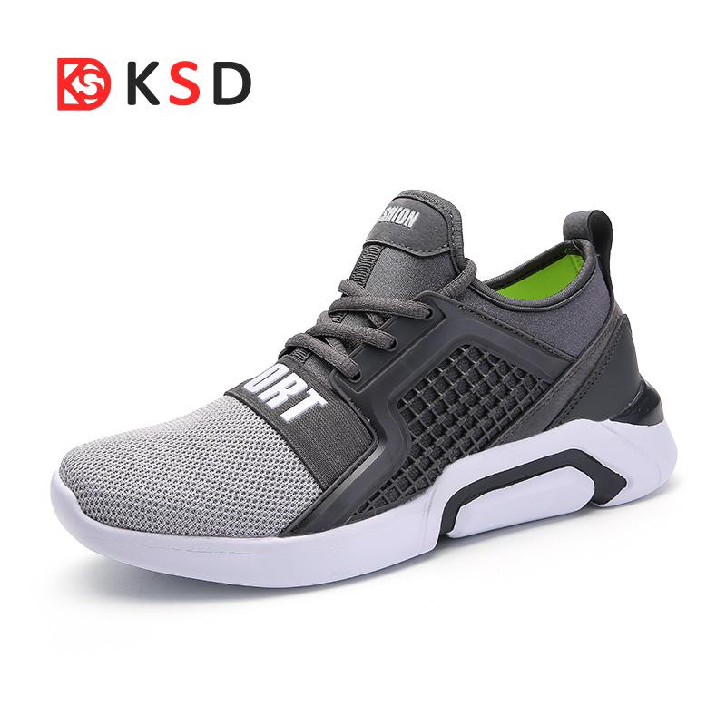 Men Running Shoes Breathable Comfortable Sport Shoes Light Weight Sneakers For Jogging Trainers Walking Shoes Plus Size 35-45