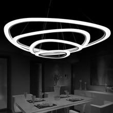 купить Modern LED Pendant Light for Living Room dining room Indoor Home Hanging Lamps Fixtures lamparas led industrielle pendelleuchte по цене 5617.57 рублей