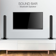 купить Detachable Wireless bluetooth Soundbar Bass Speaker 3D Surround HIFI Sound bar Stereo Bass Subwoofer Home Theatre for TV PC дешево