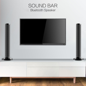 Detachable Wireless bluetooth Soundbar Bass Speaker 3D Surround HIFI Sound bar Stereo Bass Subwoofer Home Theatre for TV PC