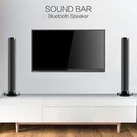Detachable Wireless bluetooth Soundbar Bass Speaker 3D Surround HIFI Sound bar Stereo Bass Subwoofer Home Theatre for TV PC
