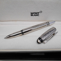 Silver Color Resin Crystal Head Gel Pen Birthday Gift Business Writing Gel Pen