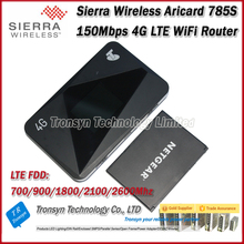 Original Unlock 150Mbps Sierra Wireless Aircard 785S Portable 4G LTE Mobile Hotspot And 4G LTE WiFi Router
