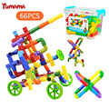 66 unids tuberías bloques creativos diy bloques huecos de abs variedad de plástico educativos ladrillos diy juguetes para niños hot wheels pista