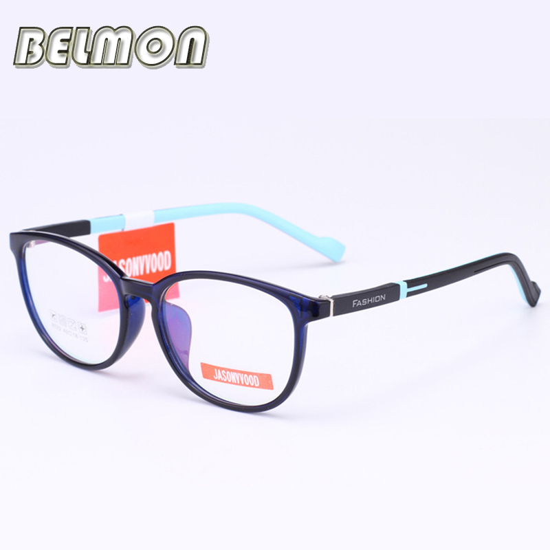 Student Spectacle Frame Children Myopia Prescription Eyeglasses Computer Optical Kids Glasses Frame For Baby Boys&Girls RS032