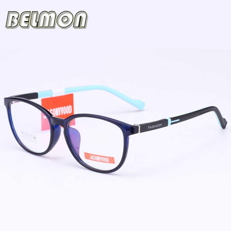 aa7865361f4 Student Spectacle Frame Children Myopia Prescription Eyeglasses Computer Optical  Kids Glasses Frame For Baby Boys Girls RS032