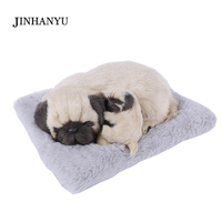 JINHANYU Cute Dog Puppy Car Ornament Lovely Car Deodorize Doll Purifying Air Interior Decoration Simulation Toy For Children