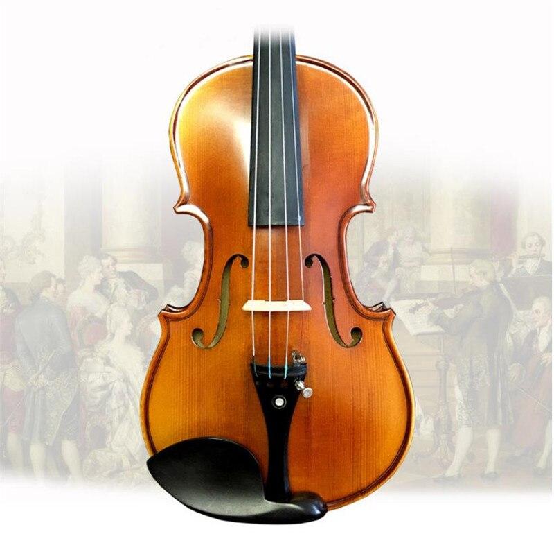 Electric Spruce violin 1 2 1 4 1 8 3 4 violin handcraft violino Musical Instruments