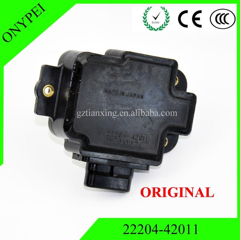 Оригинальный 22204-42011 МАФ Сенсор s расхода воздуха Сенсор для 92-96 Lexus SC400 4.0L 1uzfe toyota Soarer 22204 42011 2220442011