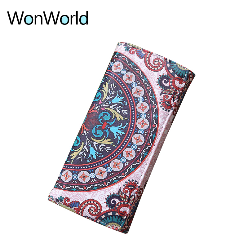 2018 luxury brand famous womens wallets and font b purses b font Organizer Cash long wallet