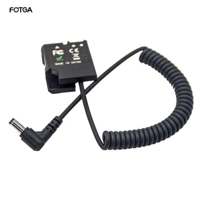 FOTGA EN EL14 더미 배터리 전원 DC 커플러 EP 5A Nikon D5600 D5500 D5300 D5200 D5100 D3300 D3400 P7800 P7700 P7100