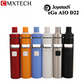 Electronic Cigarette Joyetech eGo AIO D16 D22 All-in-One Starter Kit with 2ml Tank Atomzier and 1500mah Battery Vaporizer