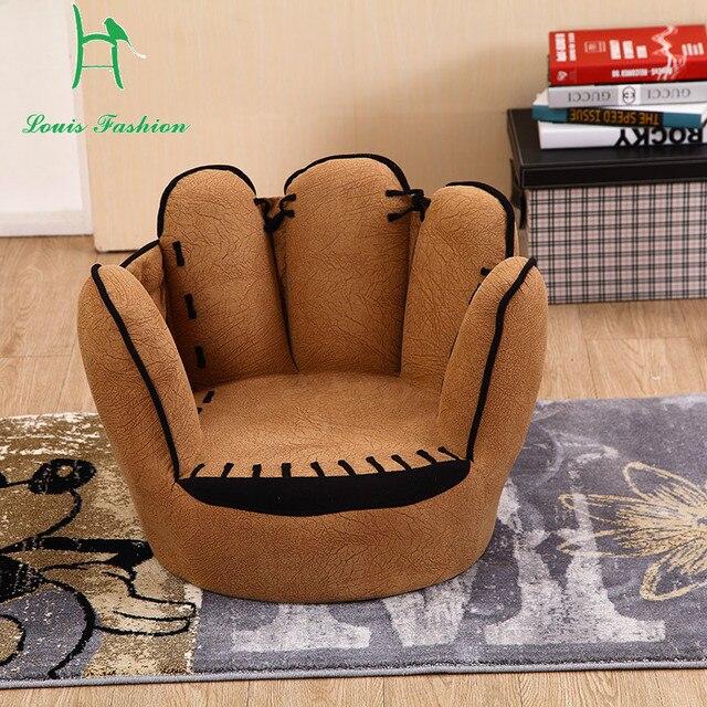 Five Fingers Modelling Creative Elvet Single Children Sofa