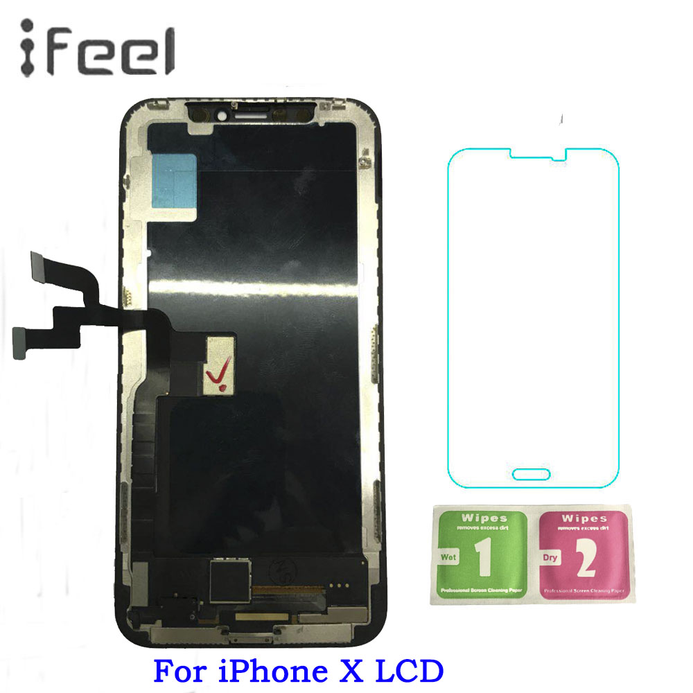 For iPhone X LCD Display Touch Screen Digitizer Assembly Replacement For iPhone X LCD Display Screen Free Shipping For iPhone X LCD Display Touch Screen Digitizer Assembly Replacement For iPhone X LCD Display Screen Free Shipping