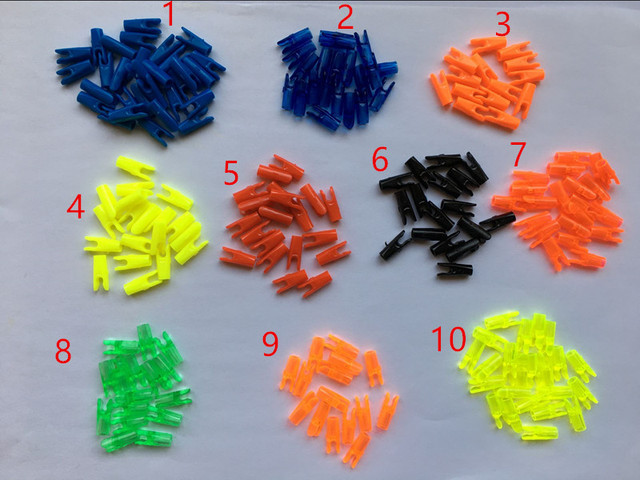 24 шт. зарубки стрелы стрельба из лука для анти 3,2 мм Специальные L Тип хвост ногтей Arbon и алюминий вал