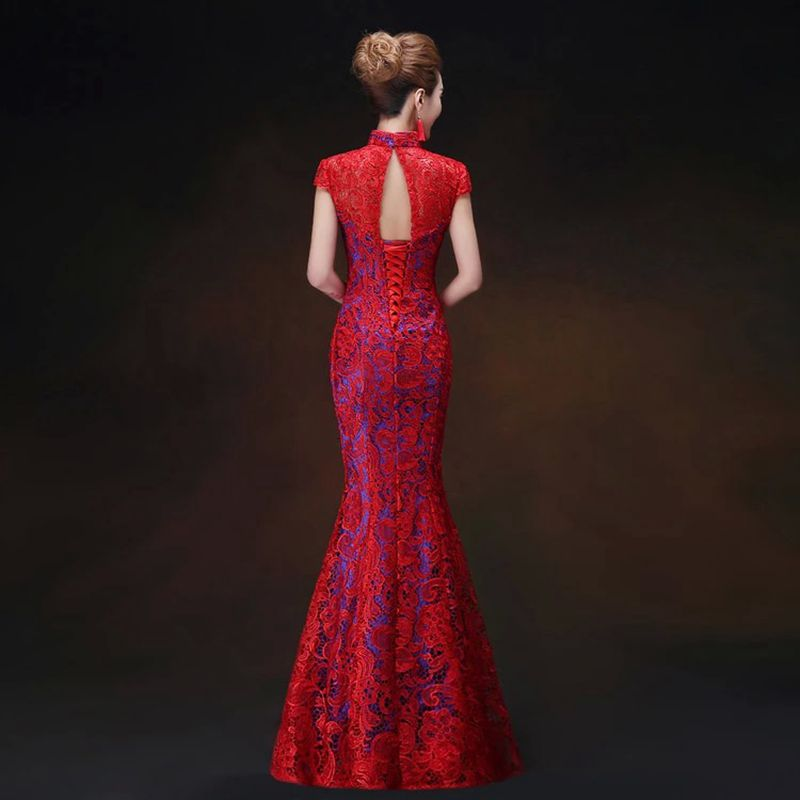Online Buy Wholesale oriental cheongsam from China ...
