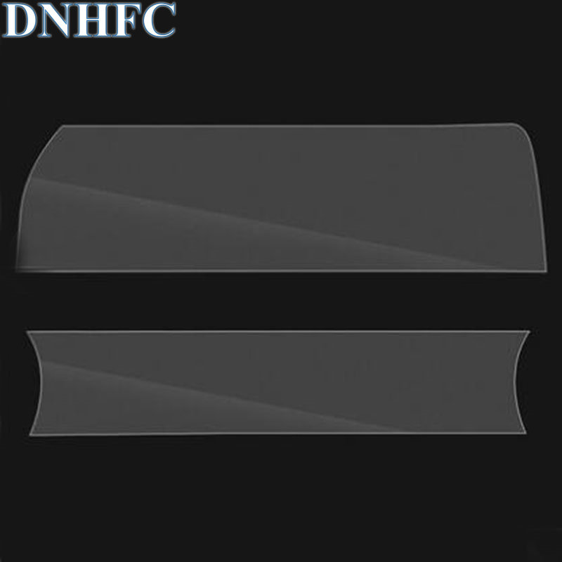 DNHFC air conditioner display screen protection film Gear panel protective film For MAZDA CX-5 CX5 KF 2nd Generation 2017 2018 dnhfc car interior reading lights decorated with light frames for mazda cx 5 cx5 kf 2nd generation 2017 2018 car styling